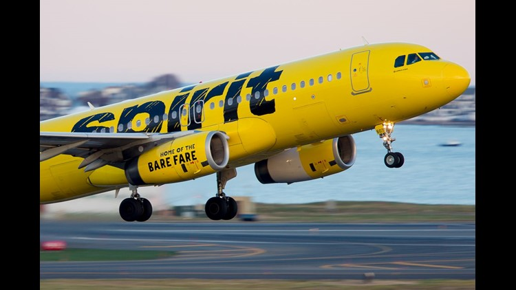 Odor diverts Spirit Airlines flight to South Carolina