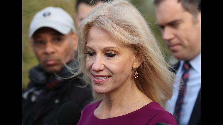 Kellyanne Conway blasts CNN for asking about her husband's critical tweets about Trump