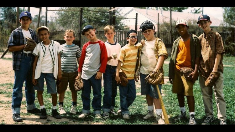 'The Sandlot' cast reunited 25 years later and played baseball