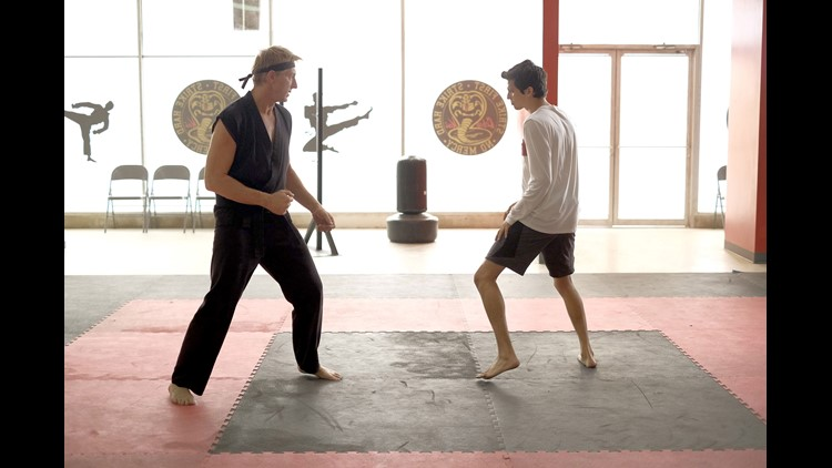 Awesome Cobra Kai Prank in NYC Drives People Nuts