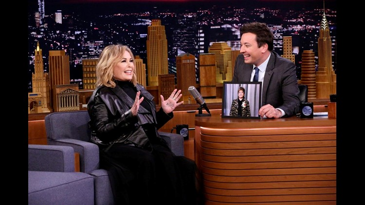 Roseanne Barr Defends Her Support for President Trump on The Tonight Show