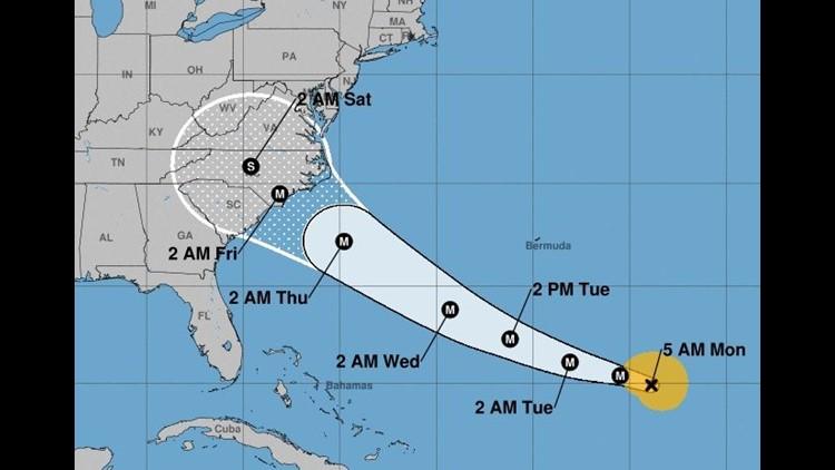 Hurricane Florence Scatters East Coast Based Cruise Ships