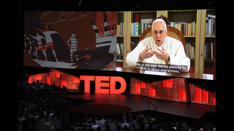 Pope TED talks