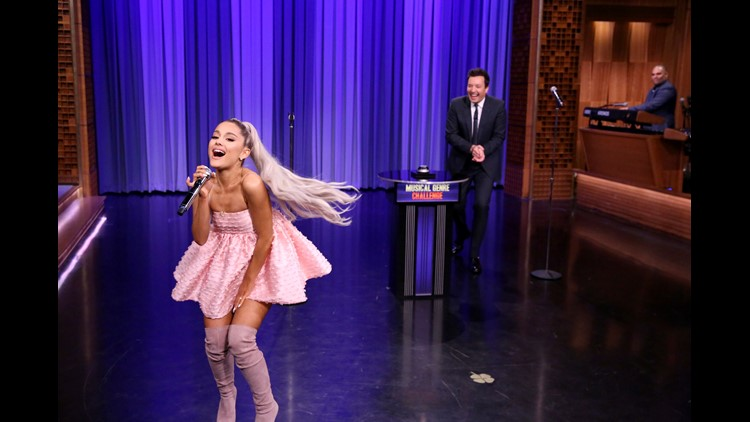 Watch Ariana Grande Cover Kendrick in the Style of Evanescence on