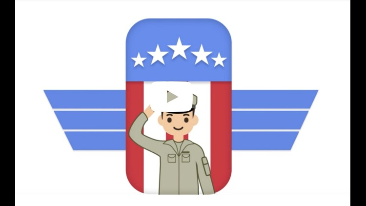 Google Veterans Job Tools imagery