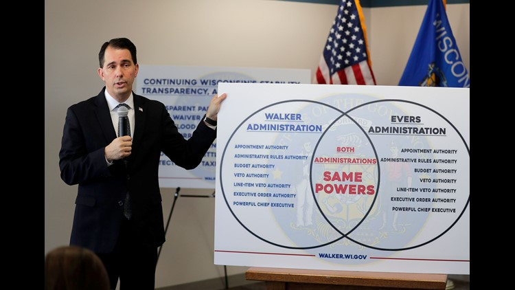 Twitter users have some things to say about Wisconsin Gov. Scott Walker's 'Venn diagram'