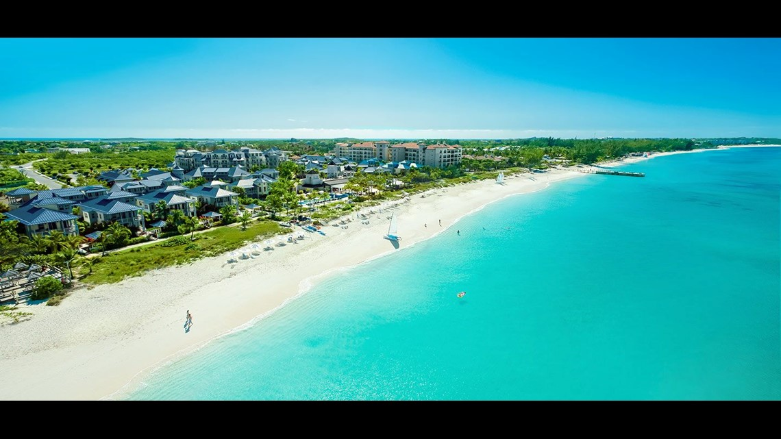 In Turks Caicos Grace Bay Beach Fronts The Family Friendly Beaches Resort