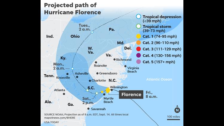 Hurricane Florence Royal Caribbean Ship Delays Return To