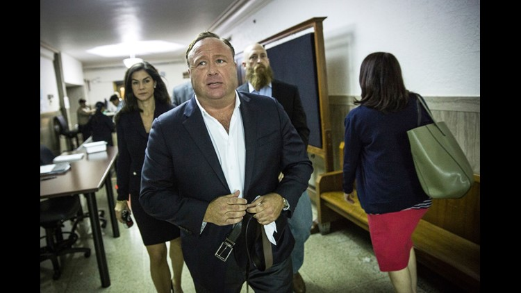Alex Jones is accused of destroying evidence in Sandy Hook defamation case