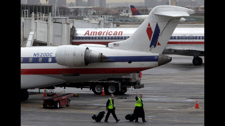 A cleaning crew discovered the fetus in the a bathroom of a flight that arrived in New York from Charlotte N.C. late Monday night local media reports