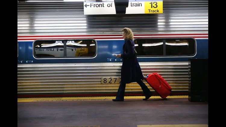 Amtrak suspends Philadelphia-Washington service after freight train crash