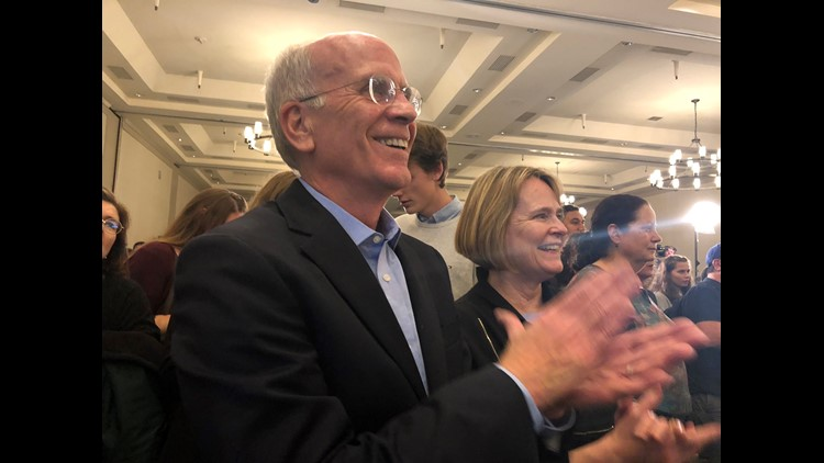 Rep. Peter Welch joins Alexandria Ocasio-Cortez in addressing job creation, climate change
