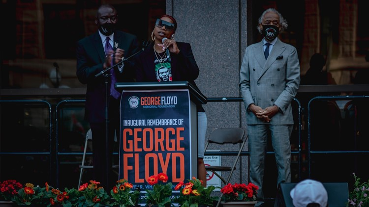 'Something changed here' | Family, community remember George Floyd in Minneapolis rally and march