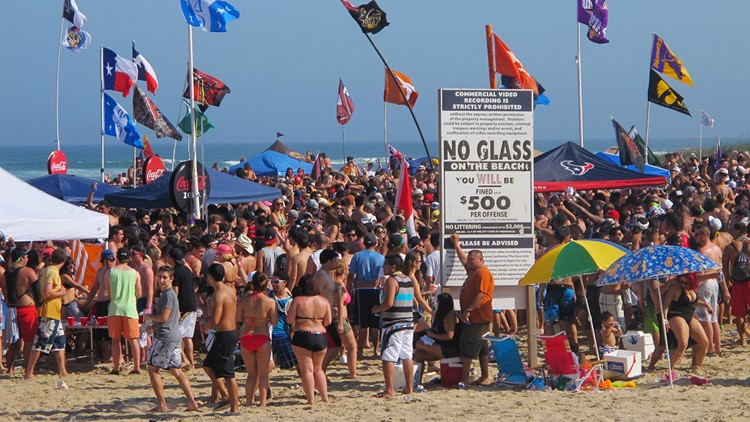 Popular spring break destination hopes to attract more than young party goers