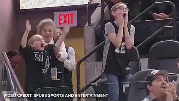 'God is big enough': San Antonio boy gets gift of a lifetime from Spurs