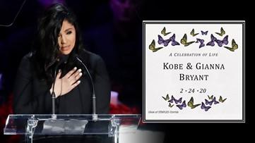 Memorial for Kobe Bryant, daughter Gianna held at STAPLES Center