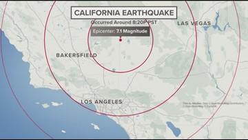 6.9 earthquake hits southern California