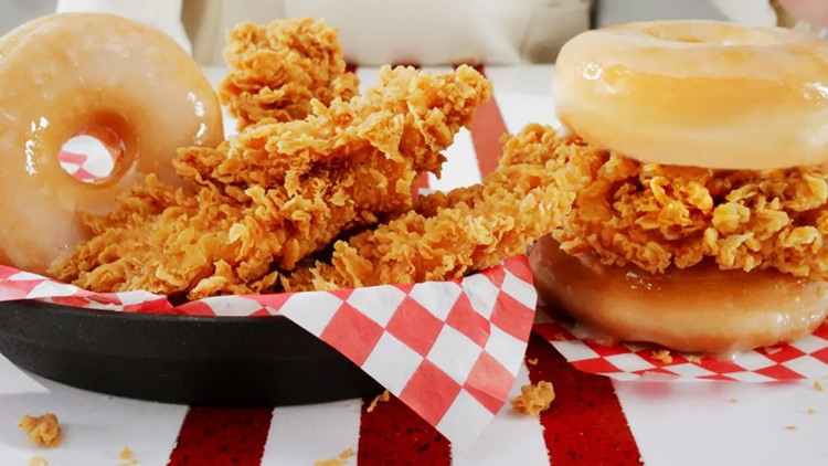 KFC's fried-chicken-and-doughnut sandwich is going national