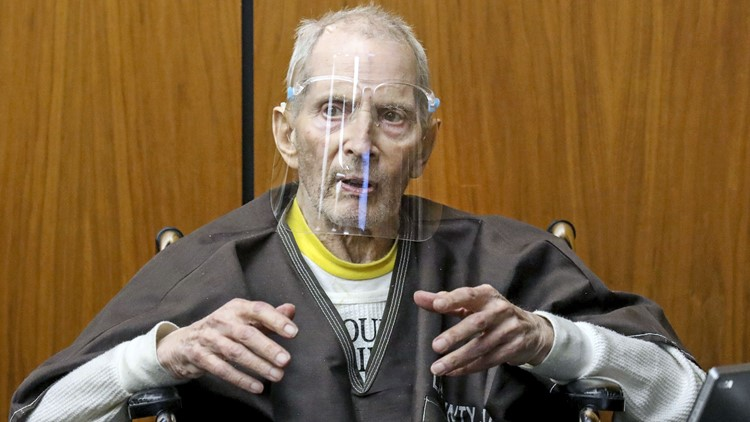 Robert Durst sentenced to life without parole for murder of best friend