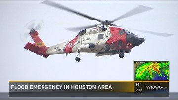 Patients airlifted out as hospital takes on water
