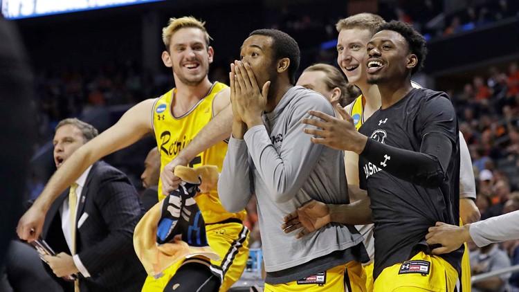 APTOPIX NCAA UMBC Virginia Basketball