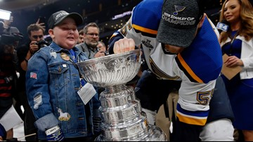 Boston mayor sends heartfelt letter to Blues superfan Laila Anderson