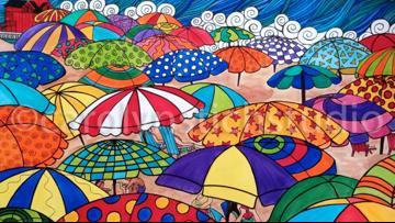 Artist uses her talent to help kids during coronavirus pandemic