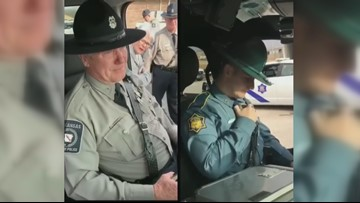 Arkansas police officer gives father last radio call before retirement