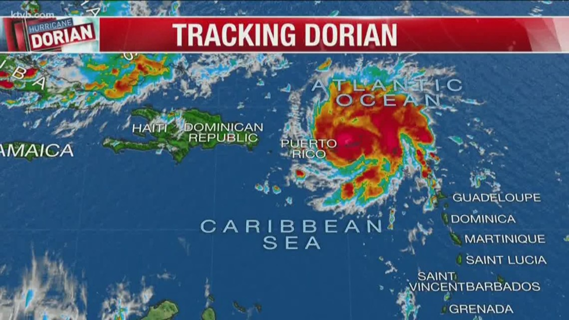 Will Hurricane Dorian impact the Boise State football game? Wednesday  August 28 forecast