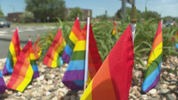 'Third time's the charm': Pride flags put up again in Colorado after being stolen twice