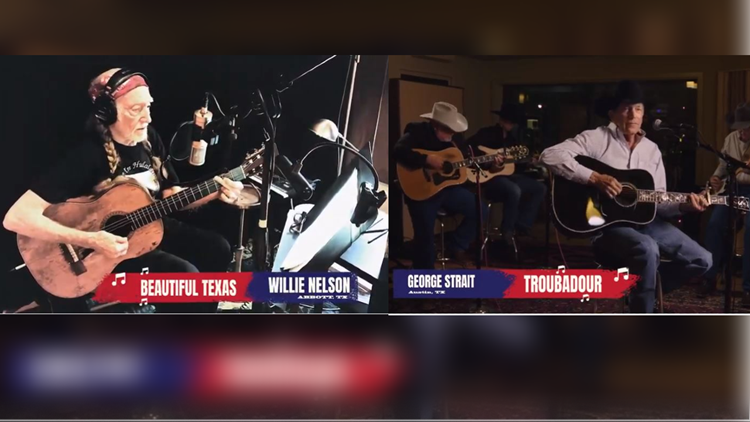 Texas legends Willie Nelson, George Strait perform in Matthew McConaughey's 'We're Texas' virtual benefit for Texas winter storm victims