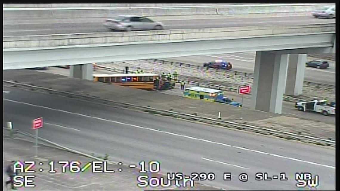 Highway 290 school bus crash