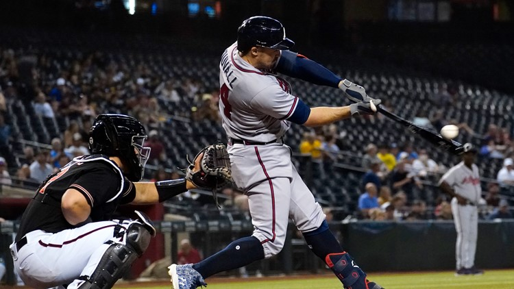 Atlanta Braves' Adam Duvall called out on home run because of baserunning error