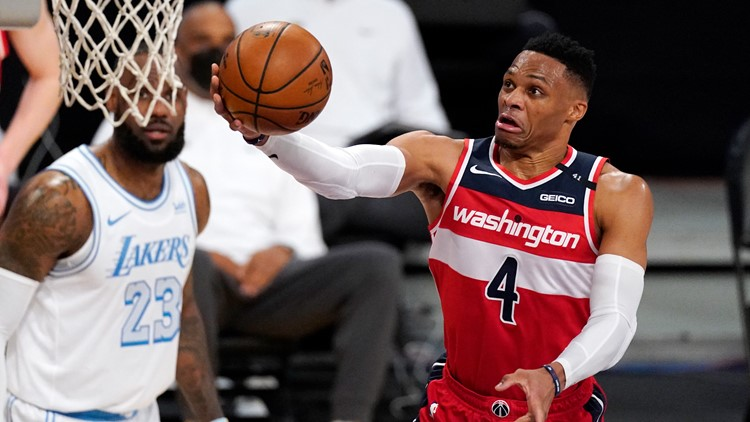 Reports: Los Angeles Lakers acquire Russell Westbrook from Wizards