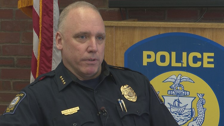 Portland police chief announces he is stepping down