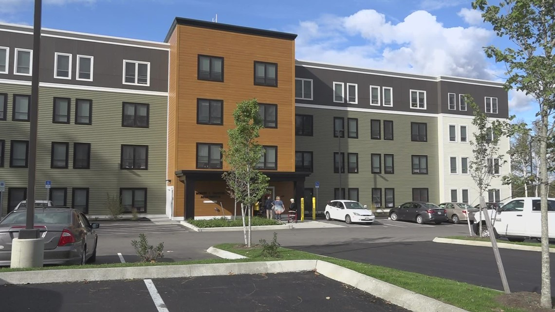 City of Westbrook holds unveiling event for new affordable housing units