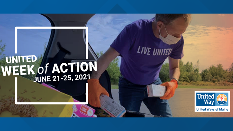 Volunteer your time during United Ways United Week of Action