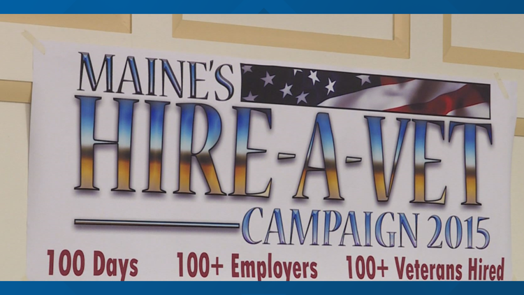 Veteran hiring campaign in Maine finds jobs for more than 280
