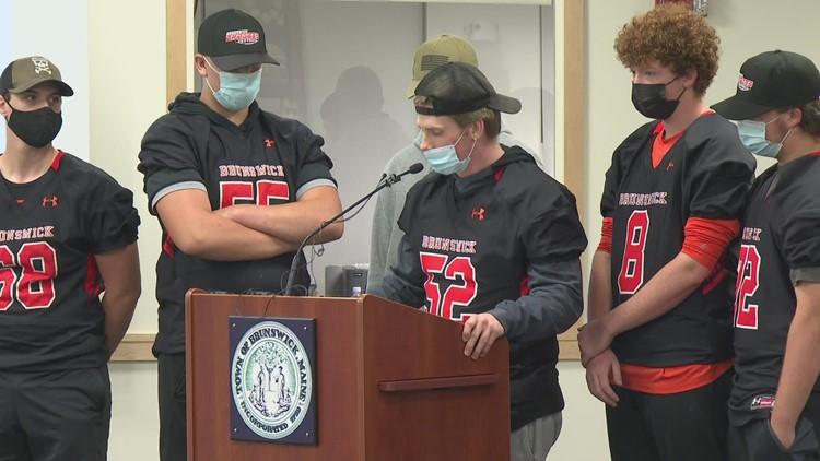 Brunswick football athlete, parent speak out against decision to cancel season
