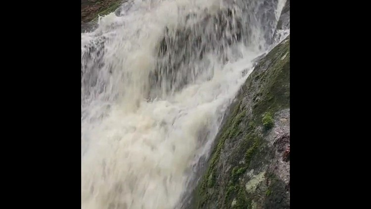 Waterfall after the rain!