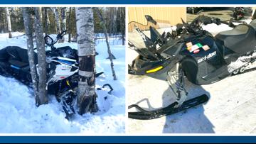 Two people killed in separate snowmobile crashes