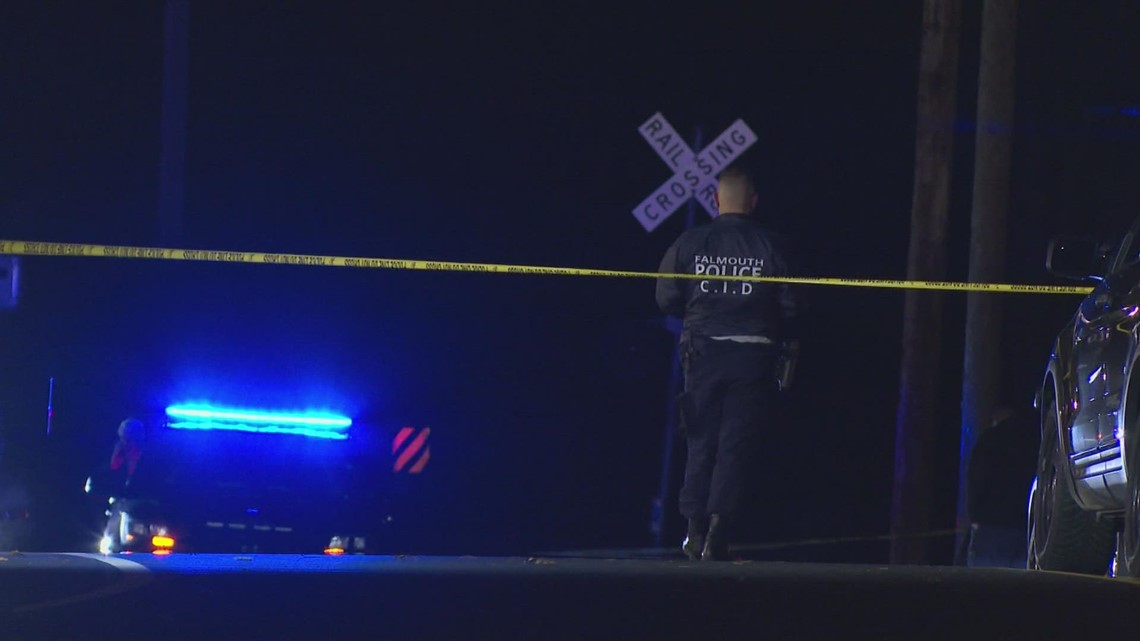 Two Falmouth police officers shoot, kill man