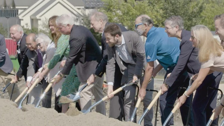 Colby College holds groundbreaking ceremony for new performing arts center