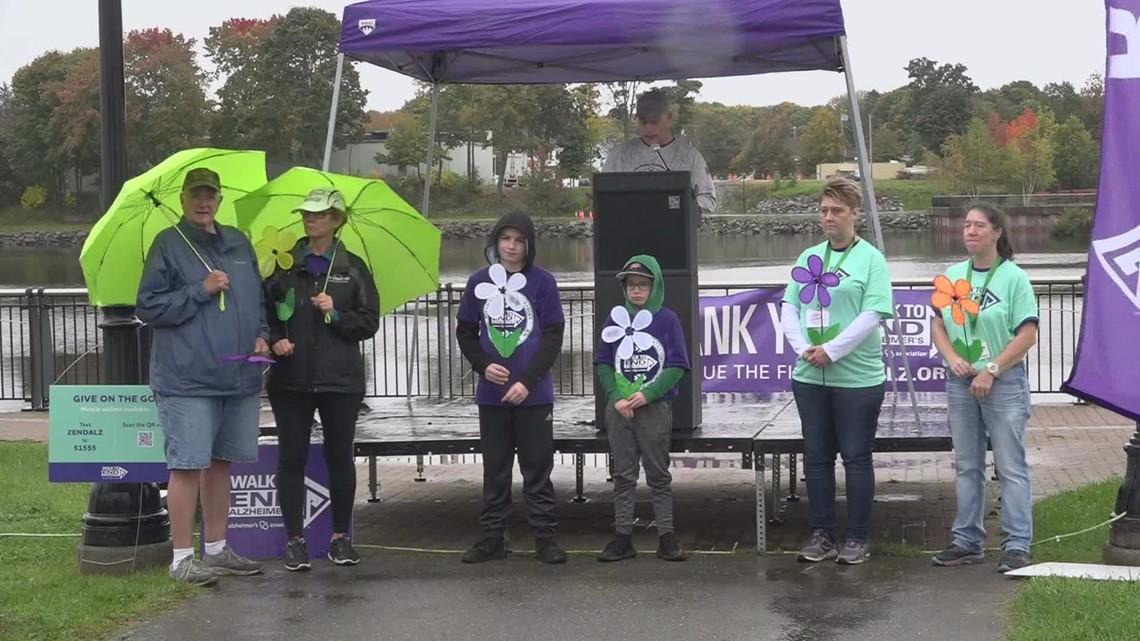 Bangor walk to end Alzheimer's