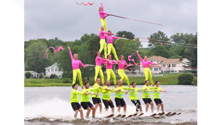 Sanford puts on world-class water ski shows and they've been doing it for decades