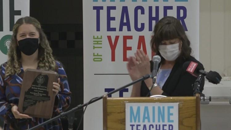 Hampden middle school teacher named Maine Teacher of the Year