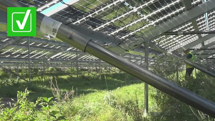 VERIFY: Yes, you can get a discount on your Central Maine Power or Versant Power electricity bills by signing up for community solar projects