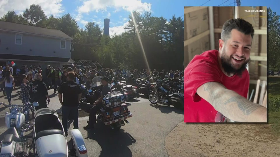 Motorcycle ride for Biddeford murder victim