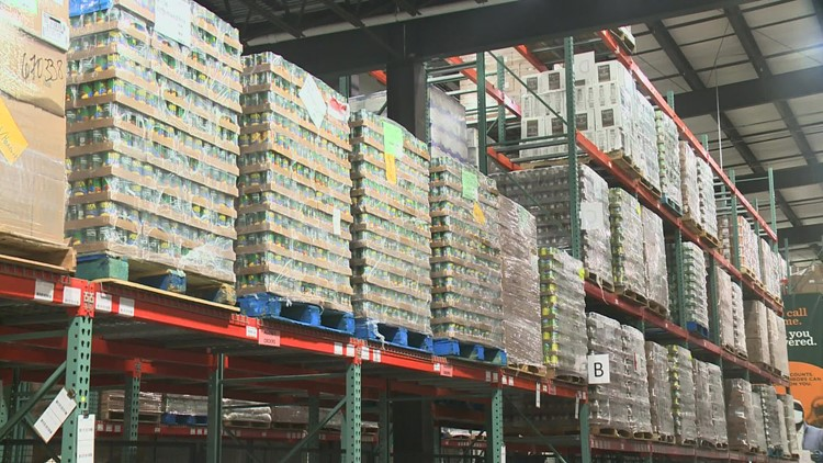 Good Shepherd Food Bank reports record-setting number of meals distributed in 2020