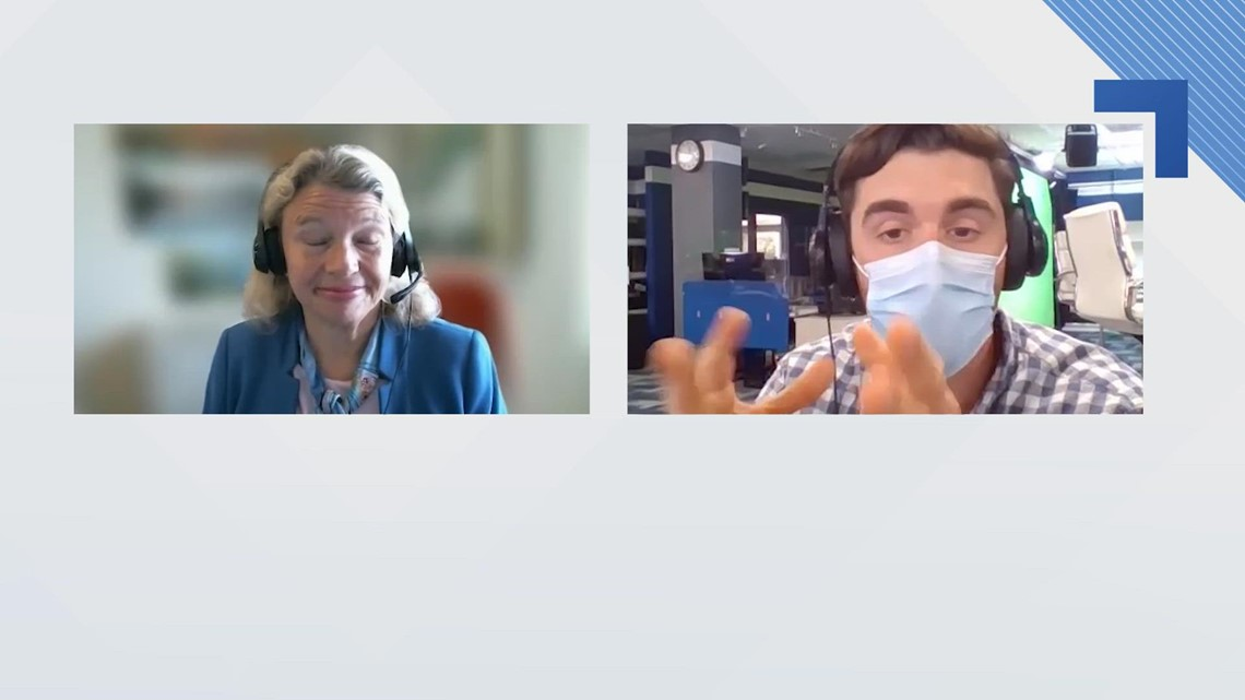 UNSCRIPTED   Dr. Dora Anne Mills of MaineHealth discusses COVID-19 vaccine booster shots